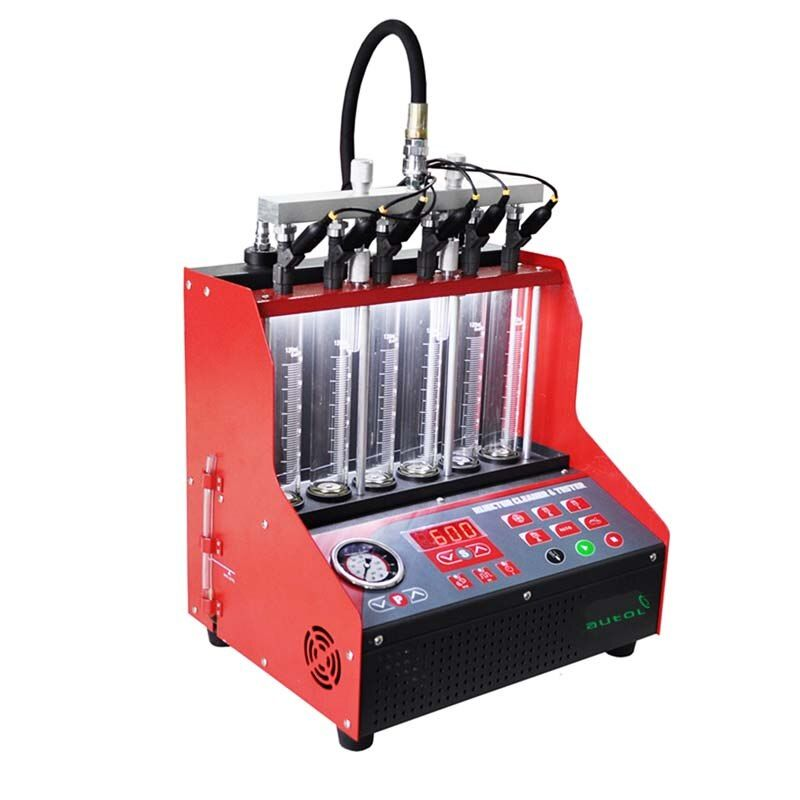 High Quality Injector Cleaner and Tester CNC600 With Ultrasonic Fuel Injector Cleaning Machine Same As LAUNCH Cnc602a