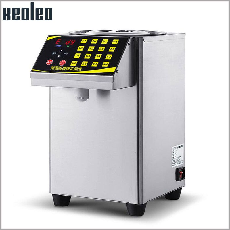 XEOLEO 16 Grid Quantitative machine Automatic Fructose Dispenser Micro computer Fructose machine Stainless steel Syrup dispenser