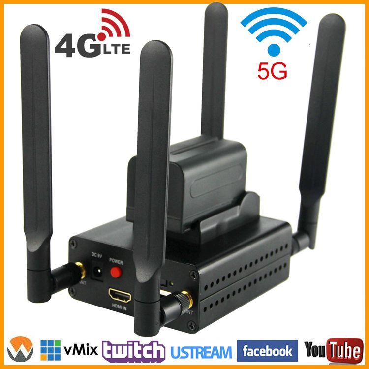 URay 4g LTE 1080 p Wireless HDMI Zu IP Video Encoder H.264 HDMI Streaming Encoder H264 HDMI RTMP UDP encoder WiFi Für Live, IPTV