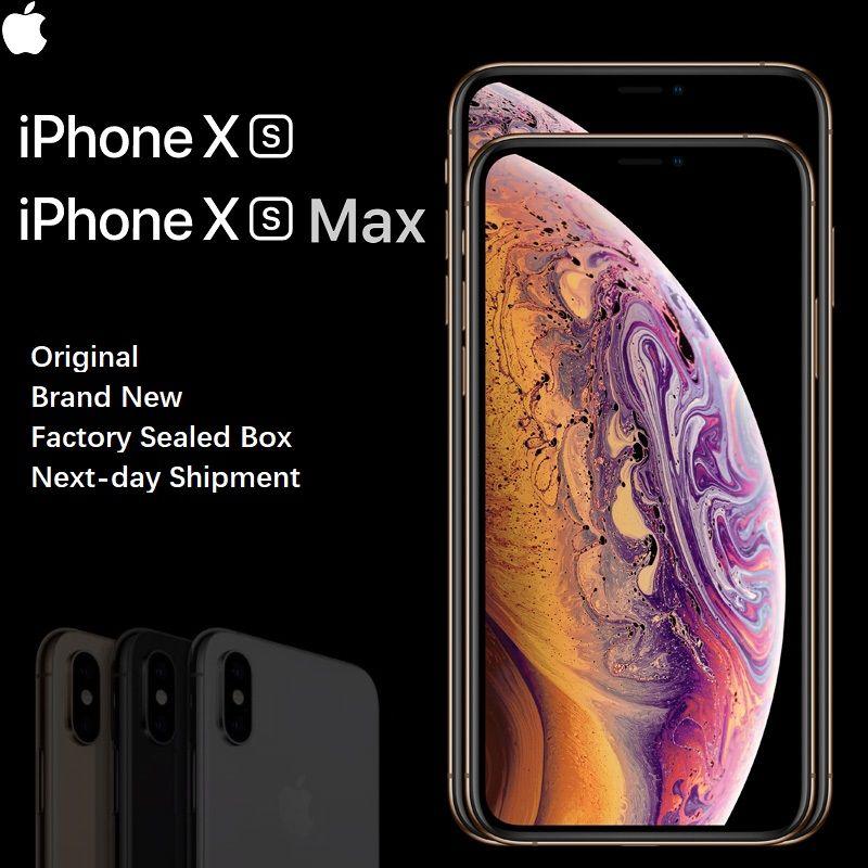 Marke Neue iPhone Xs/Xs Max 4G LTE Gesicht ID Alle Bildschirm 5,8/6,5