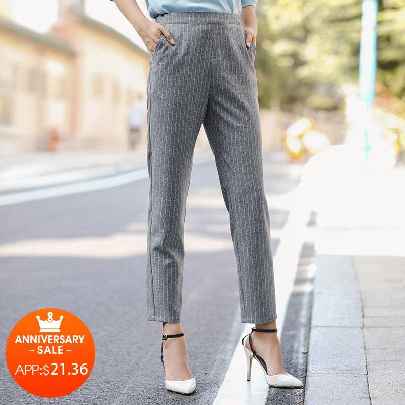INMAN 2018 New Products Women Spring Clothes Loose Leggings Women
