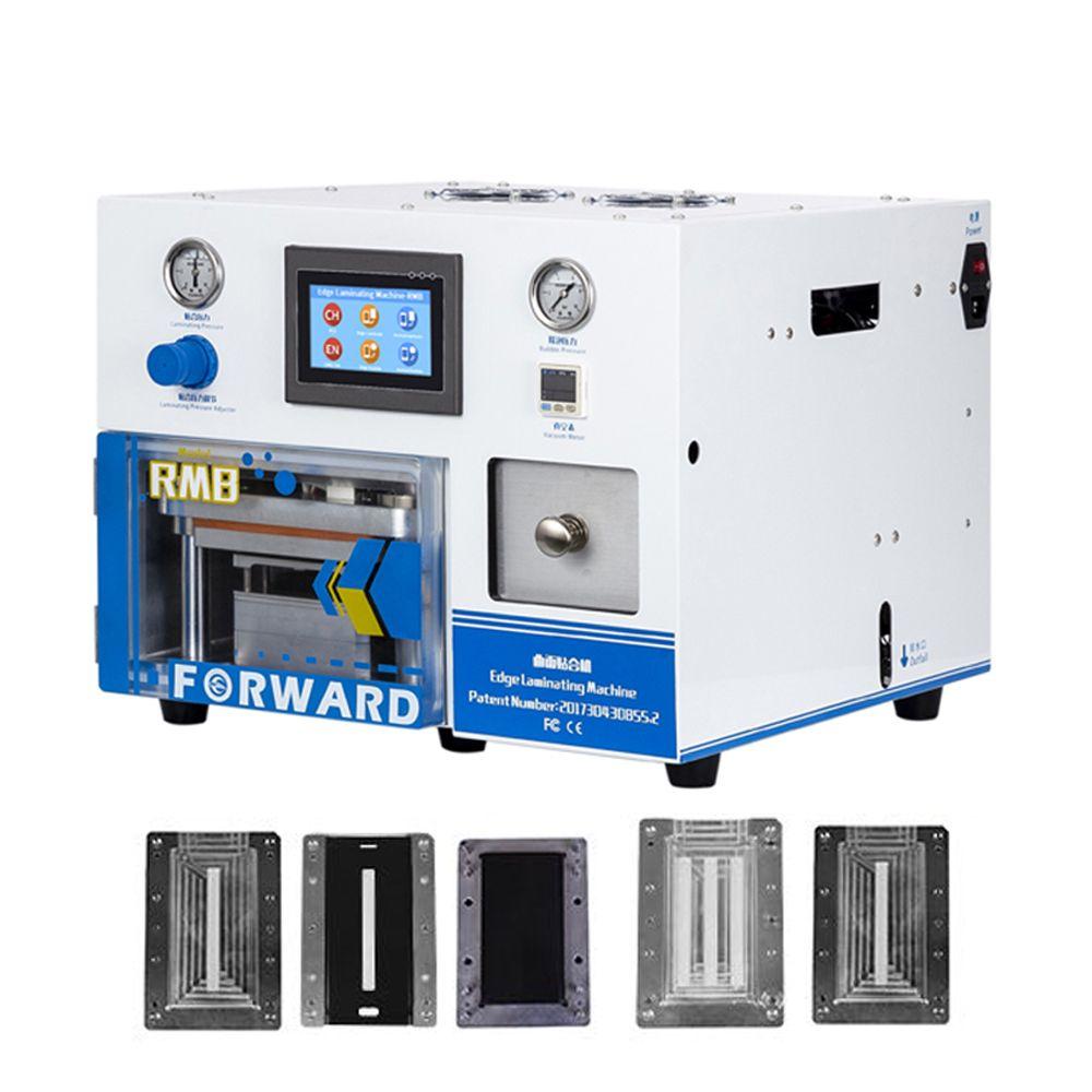 5 in 1 OCA Laminieren Maschine Eingebaute Vakuumpumpe Luft Kompressor + 5 satz Sumsung Rand Gebogene Touch Screen Reparatur formen