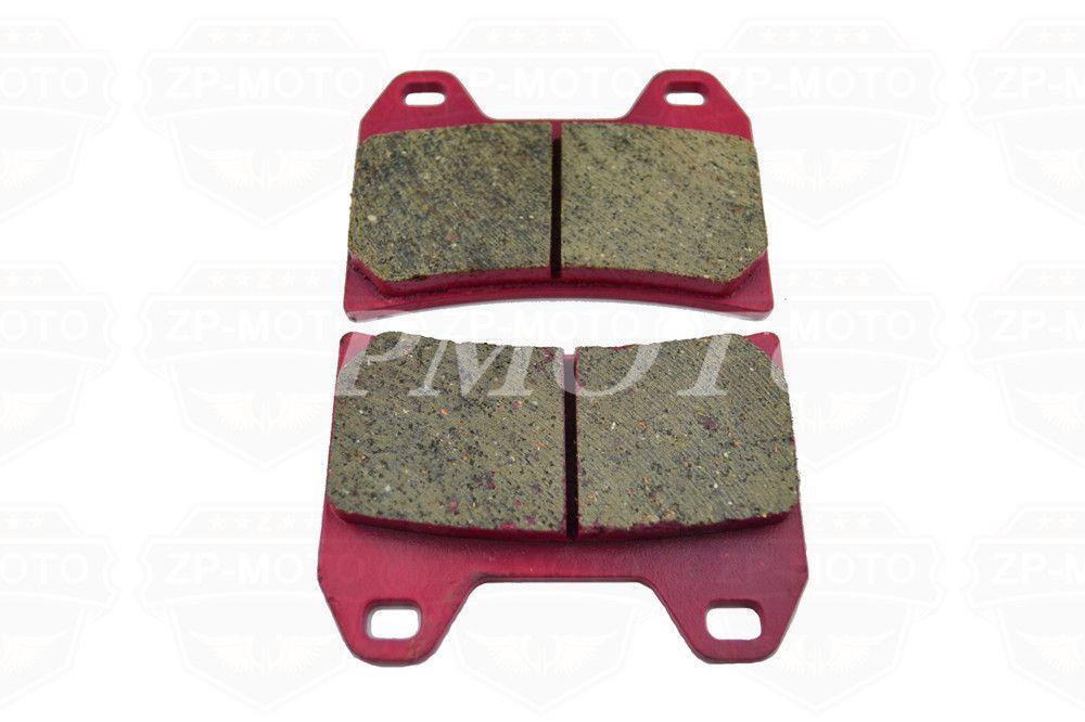 High-Quality CARBON CERAMIC ROAD BRAKE PADS For HONDA CB 400 NC31 97 (Front)