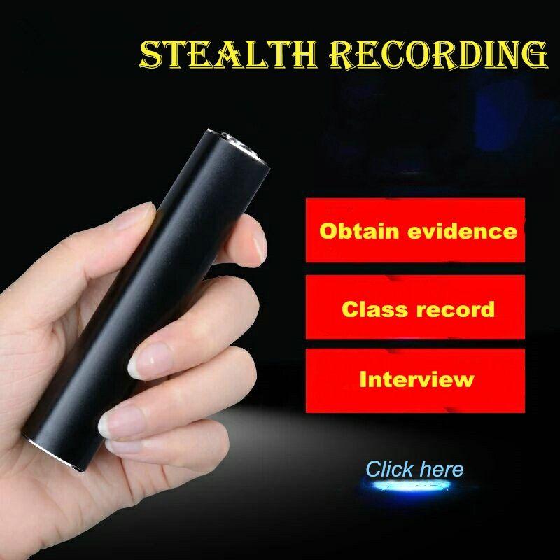 Yescool E180 professionelle Digital voice Recorder 16 GB denoise HD fern stereo kompakten Metall mini Tragbare REC MP3