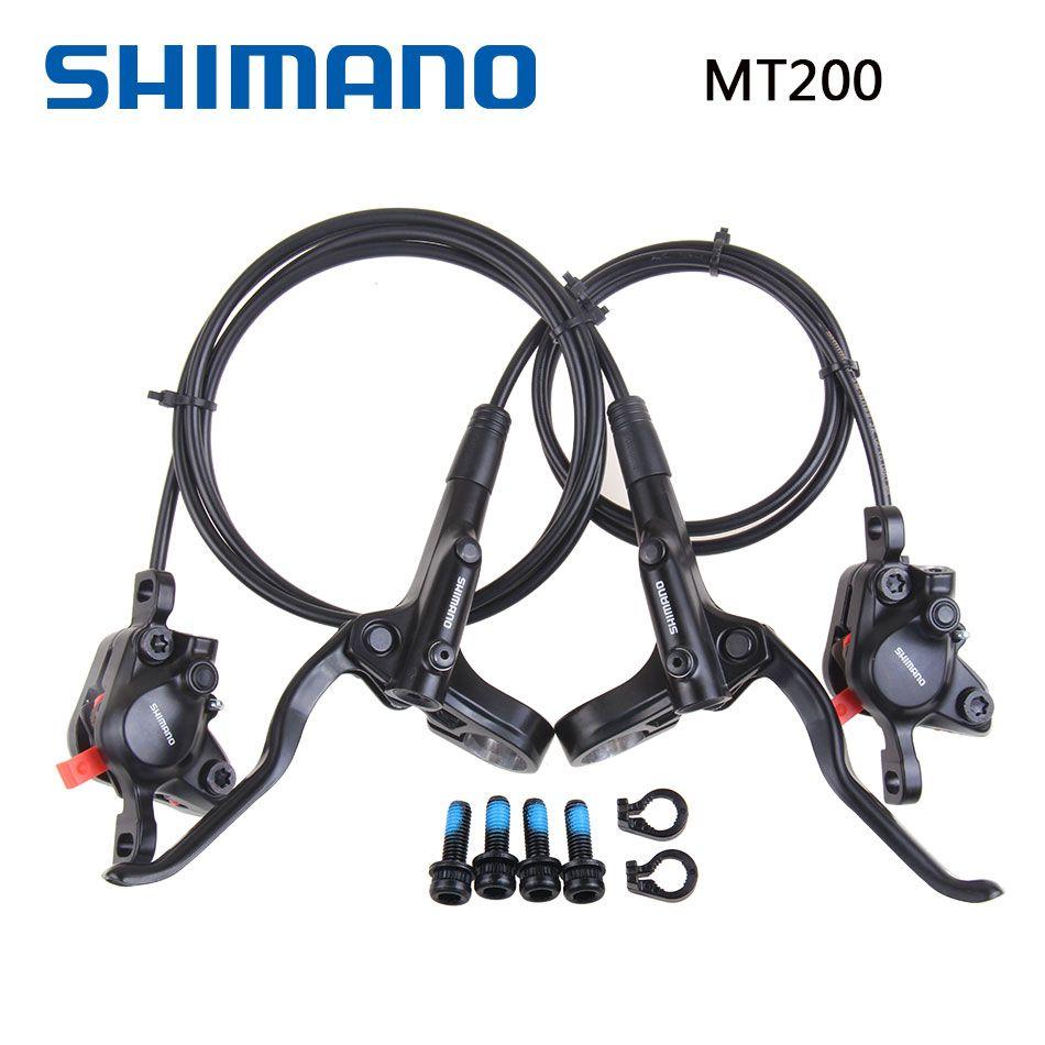 Shimano MT200 M315 frein vélo vélo vtt frein hydraulique jeu de disques pince vtt frein 800mm/1450mm M315 mise à jour