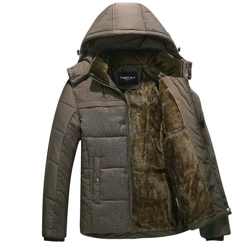 2018 new Brand winter warm Jacket for men hooded coats casual mens thick coat male slim casual cotton <font><b>padded</b></font> casual warm