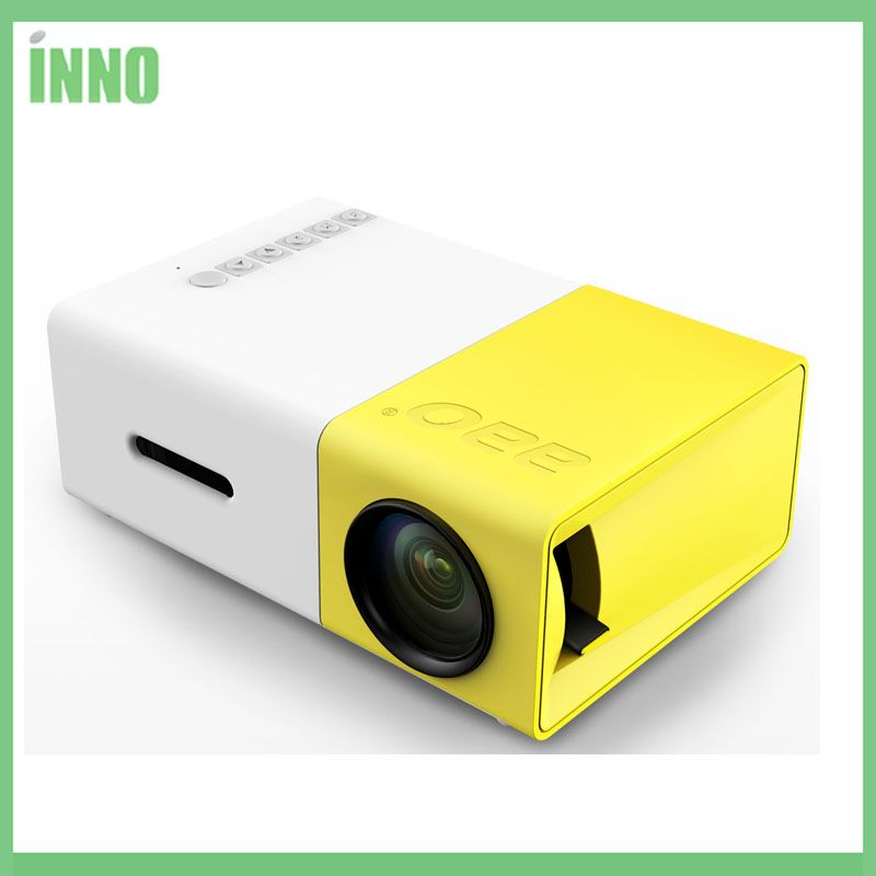 Y300 LED Portable Projector 500LM 3.5mm 320x240 Pixel HDMI USB Mini Projector Home Media Player