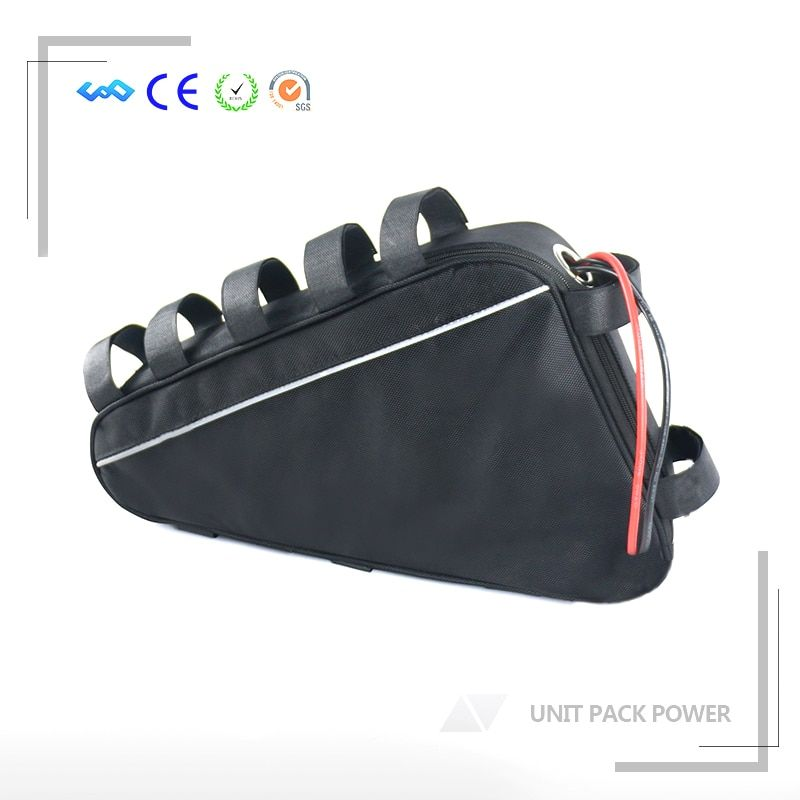 EU US No Tax 52V 1200W 1500W Electric Bike Triangle Battery 52V 20AH Lithium Battery with 40A BMS and 58.8V 4A Fast Charger