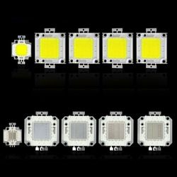 COB LED chip lámpara 10 W 20 W 30 W 50 W 100 W virutas de bulbo para proyector floodlight jardín cuadrado DC 12 V 36 V luces LED integrado