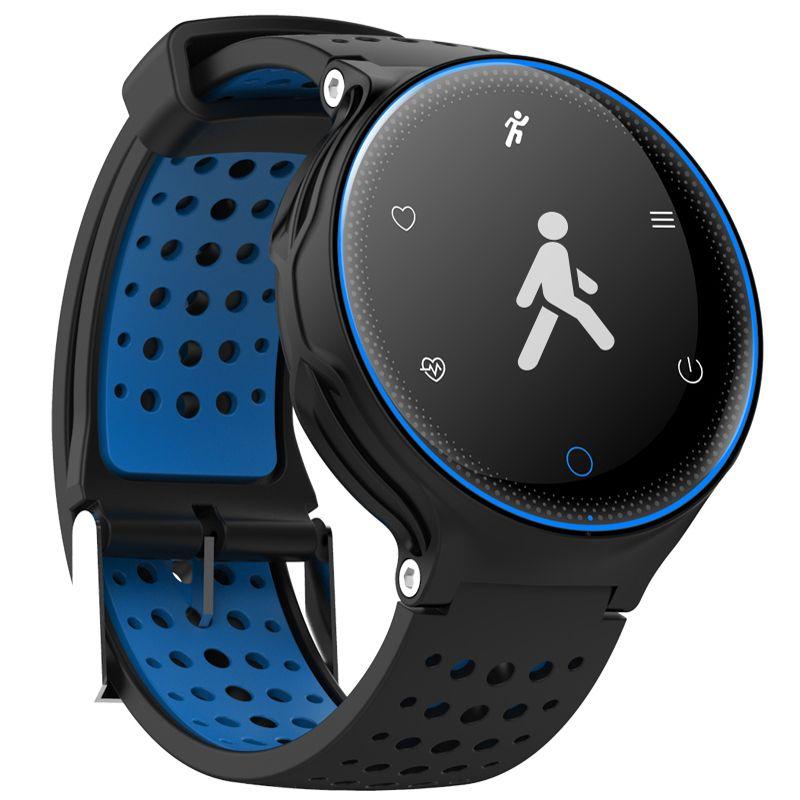 XR02 <font><b>Blood</b></font> Pressure Oxygen Heart Rate Monitor Smart Bracelet Waterproof Bluetooth Watch For IOS Android Smartphones Pk Garmin