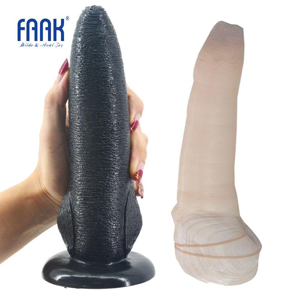 FAAK animal gode avec ventouse panopea brusta conception jouets sexuels pour les femmes anal massage porno weired gode gros pénis sex shop