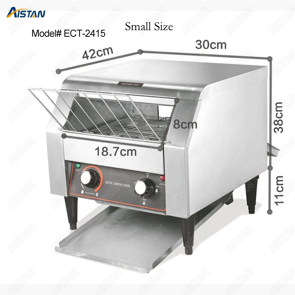 ECT2415 commercial electric conveyor bun bread pizza cookie toaster oven machine for catering equipment