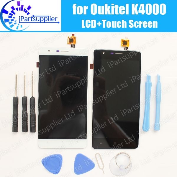 Oukitel K4000 LCD Display+Touch Screen Assembly 100% Tested LCD Digitizer Glass Panel Replacement For Oukitel K4000+Tool,2 touch
