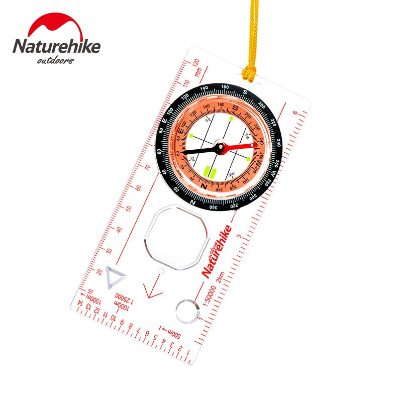 NatureHike Compass Outdoor Sports Survival Products Handheld Compass Camping Equipment NH15A001-F