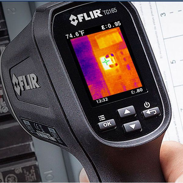 FLIR TG-165 Thermal Imager New Original Authentic -25-380 Thermal camera Visual Infrared Thermometer
