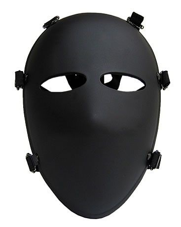 Military 6 Point Bulletproof Mask Full Face Mask NIJ IIIA.44 Ballistic Mask