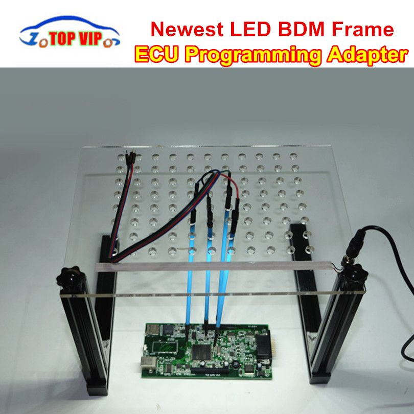 LED BDM Frame Programmer Full Set For KESS / KTAG / Fgtech Galletto / BDM100 ECU Chip Tuning Tool with 4 Probe Pens