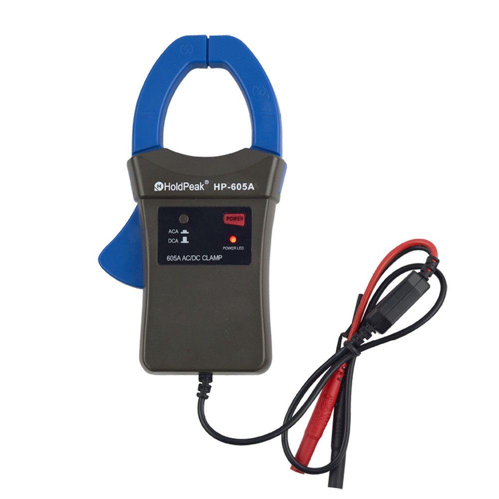 Digital Multimeter Holdpeak Hp-605a Clamp Adapter 600a Ac/dc Current Power Led 45mm Jaw Caliber Tester Cap Bone Casquette Gorra