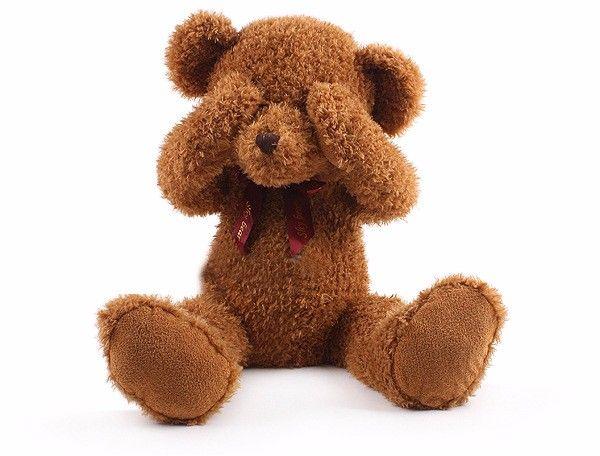 40cm Kawaii Teddy bear Peek a Boo Shy Bear kids Plush toys High-quality baby toys stuffed dolls for children