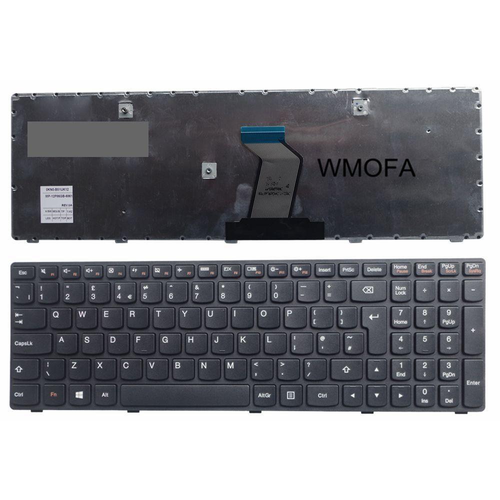 ROYAUME-UNI Nouveau clavier d'ordinateur portable Pour LENOVO G500 G510 G505 G700 G710 G500A G505A G510 G700A G710A G500AM G700AT