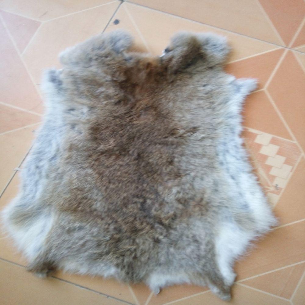 Meilleur Grade naturel doux lièvre peau de lapin peau de lapin fourrure de lapin pour chaussure vêtement sac accessoire Animal artisanat nouveau