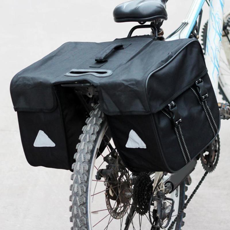 MTB Mountainbike Gepäckträger Tasche Wasserdichte Fahrrad Träger Gepäck Pannier Tasche Professionelle Reiten Pannier Rear Seat Trunk Bag