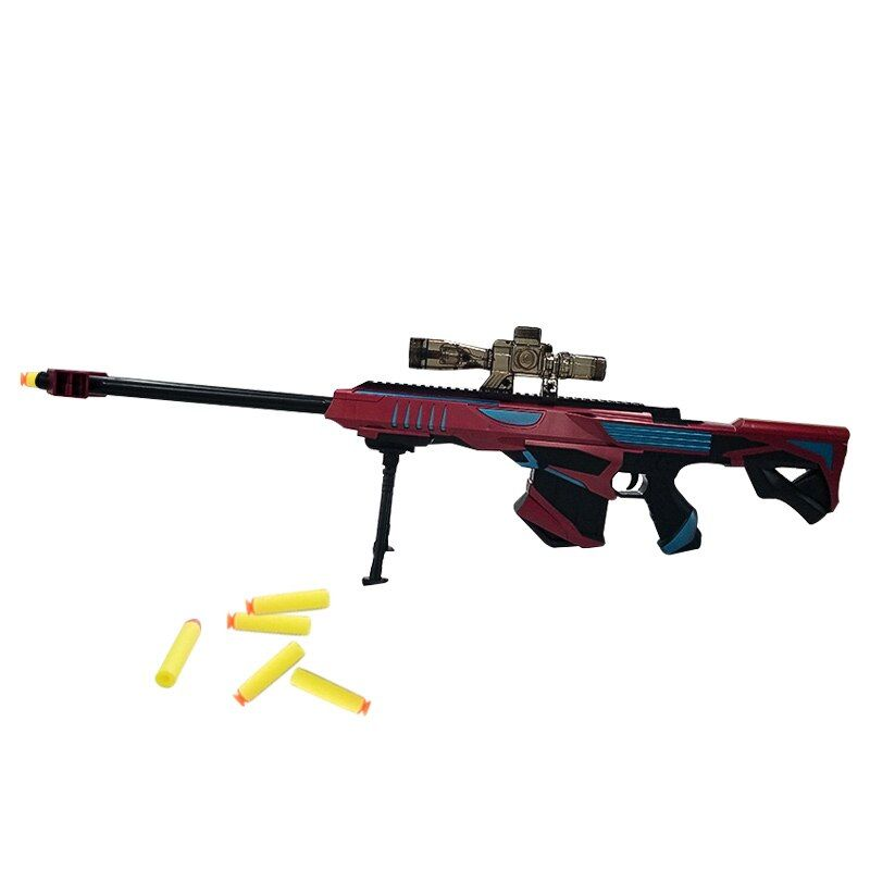 Blaster Gun Toy Water Gun Rifle Soft Bullet Plastic Abs Sniper Rifle Pistol Water Paintball Outdoor Paintball Elite Air Soft