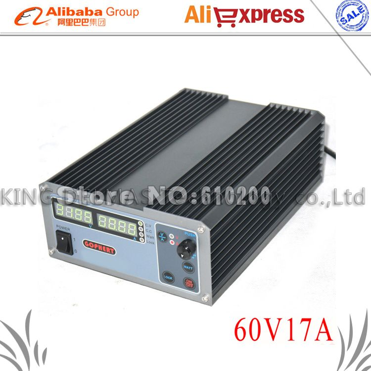 CPS-6017 Professional Laboratory Power Supply 1000W 60V 17A High Power Digital Adjustable DC Power Supply 220V Phone Repair Kit