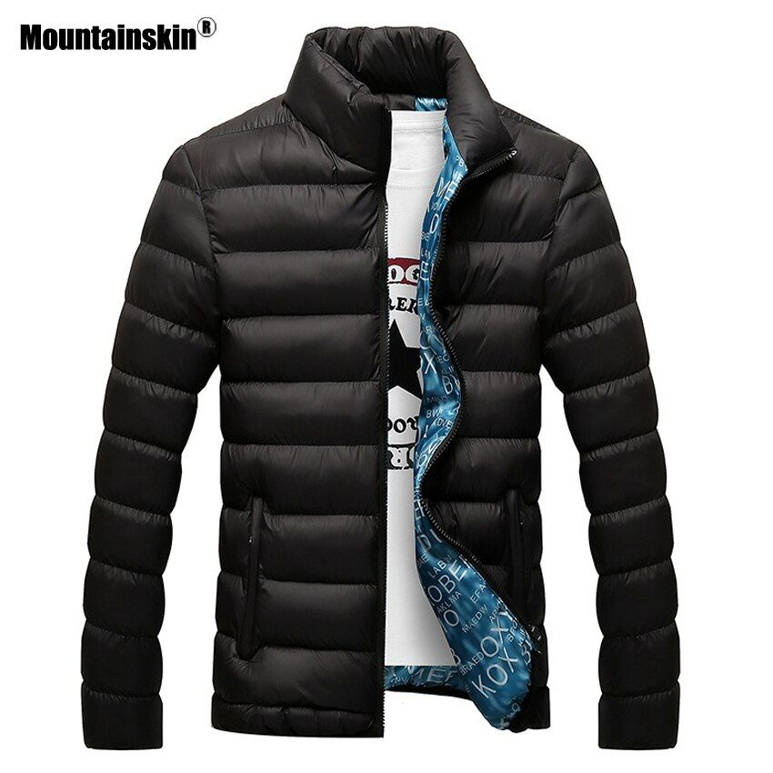 Mountainskin Winter Men Jacket 2018 Brand Casual Mens Jackets And Coats Thick Parka Men Outwear 4XL Jacket Male Clothing,EDA104
