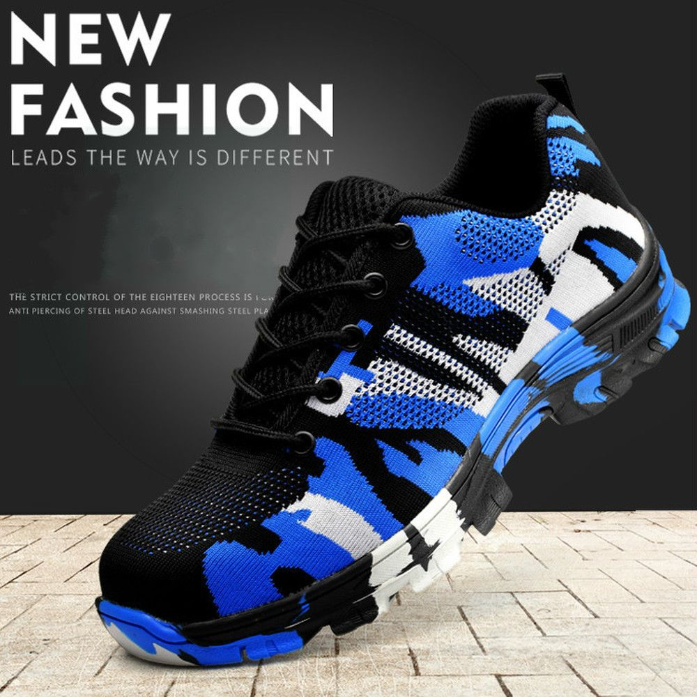 Smash and piercing safety protective shoes men shoes