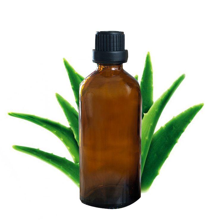 Aloe huile 100% Naturel Aloe Huile De Base 100 ml d'huile essentielle Hydrater Hydratant Réparation Peau Anti Vieillissement Corps Huile De Massage J10