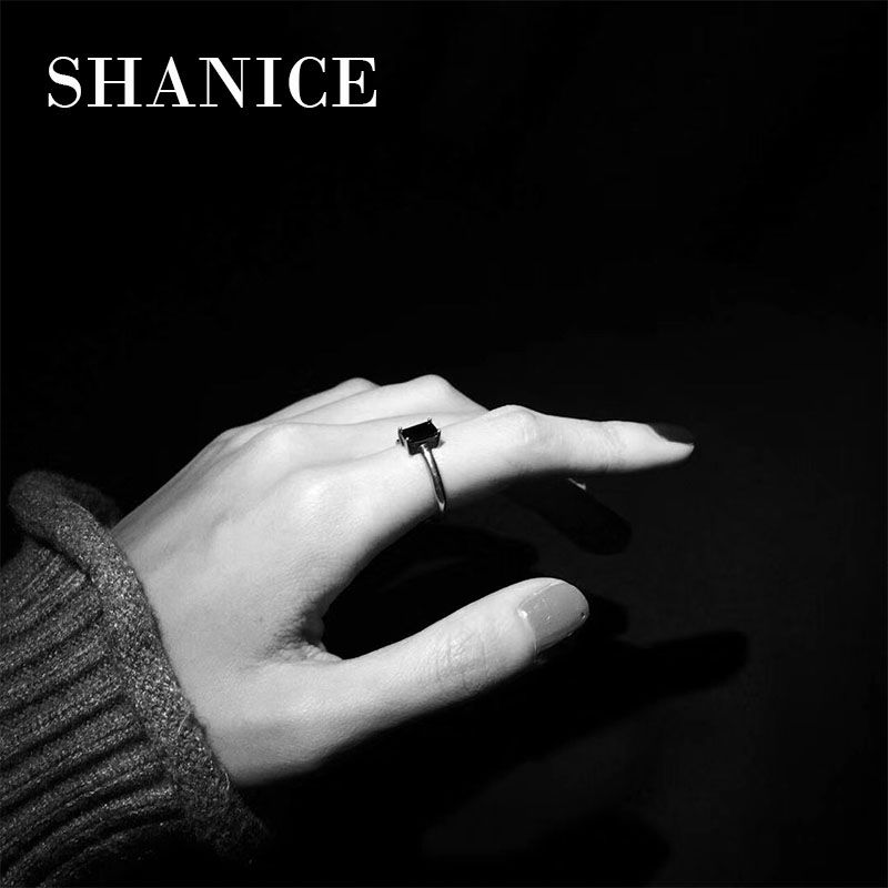 SHANICE Special s925 sterling silver open ring Vintage Opening Ring