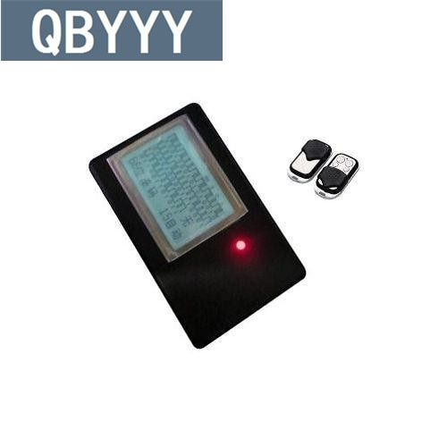 QBYYY rolling code auto door opener remote control detector scanner decoding device + A315 self clone remote control key