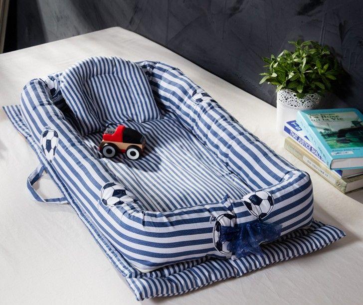 Sac de bébé Nouveau-Né Portable Biomimétisme Multifonctionnel Emperorship Solidder Pépinière Pliable Voyage Lit avec Bumper Lit bébé Matelas