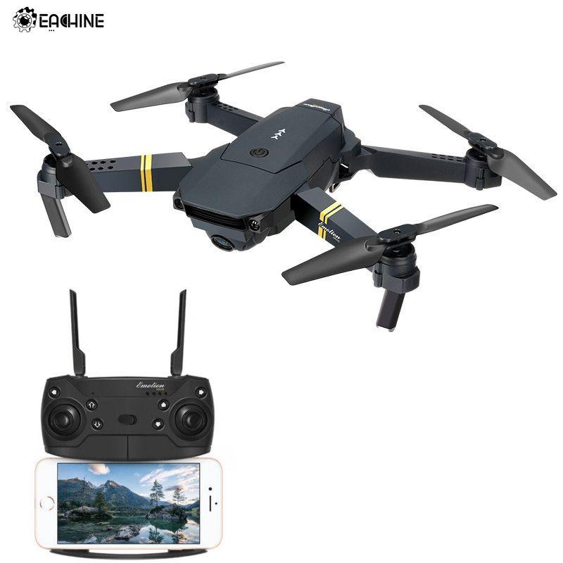 Eachine E58 WIFI FPV Avec Grand Angle HD Caméra Haute Tenue Mode Pliable Bras RC Drone Quadcopter RTF