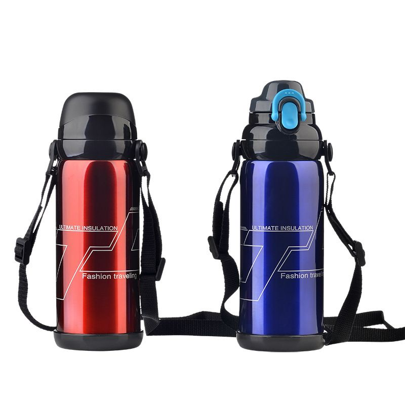 YiHAO 5 Farbe Edelstahl Isolierte Flasche 800 ml Thermo Isolierflasche Thermo Kaffee Garrafa Termica Sport Termo