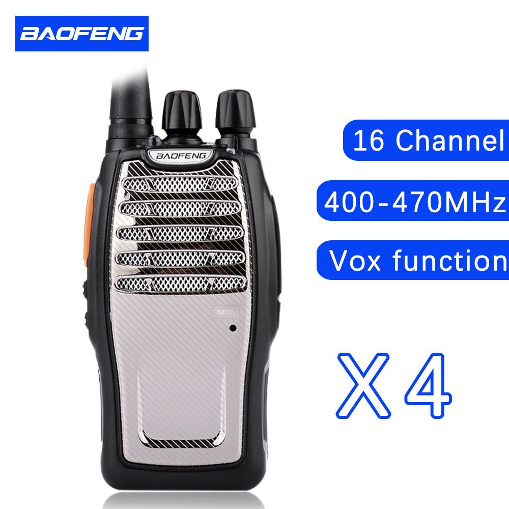 (4 PCS)BaoFeng UHF Walkie Talkie BF-A5 16CH VOX+Scrambler Function Free Shipping Two Way Radio baofeng A5
