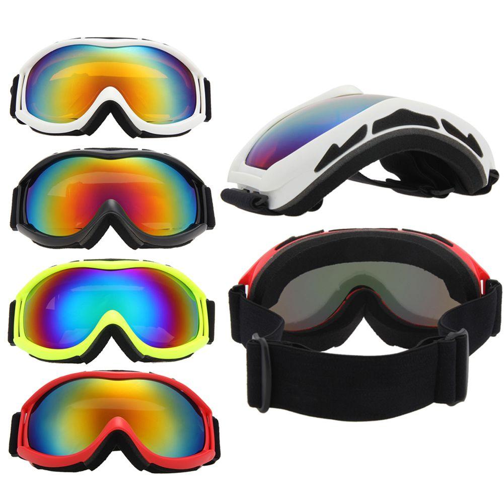 Unisex Skiing Eyewear Double Lens UV400 Anti-Fog Big Spherical Skiing Glasses Winter Sport Protective Snowboard Goggles Glasses