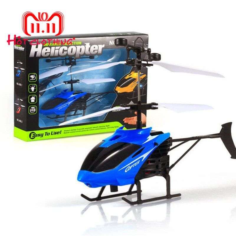 Capteur infrarouge hélicoptère avion 3D gyroscope hélicoptère électrique Micro 2 canaux hélicoptère jouet cadeau pour les enfants