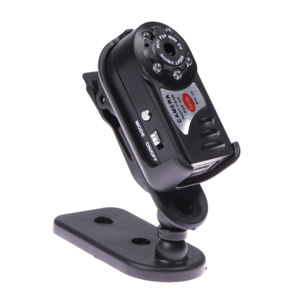 Q7 Mini Wifi DVR Wireless IP Camcorder Video Recorder Camera Infrared Night Vision Camera Loop recording Waterproof