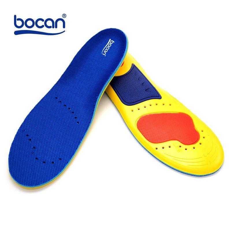 Бокан пены памяти Стельки амортизацией ортопедические стельки для обувь для мужчин и женщин удобной обуви стельки