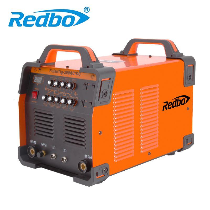 REDBO TIG-200P AC/DC mos Intenter Wig-schweißen Maschine