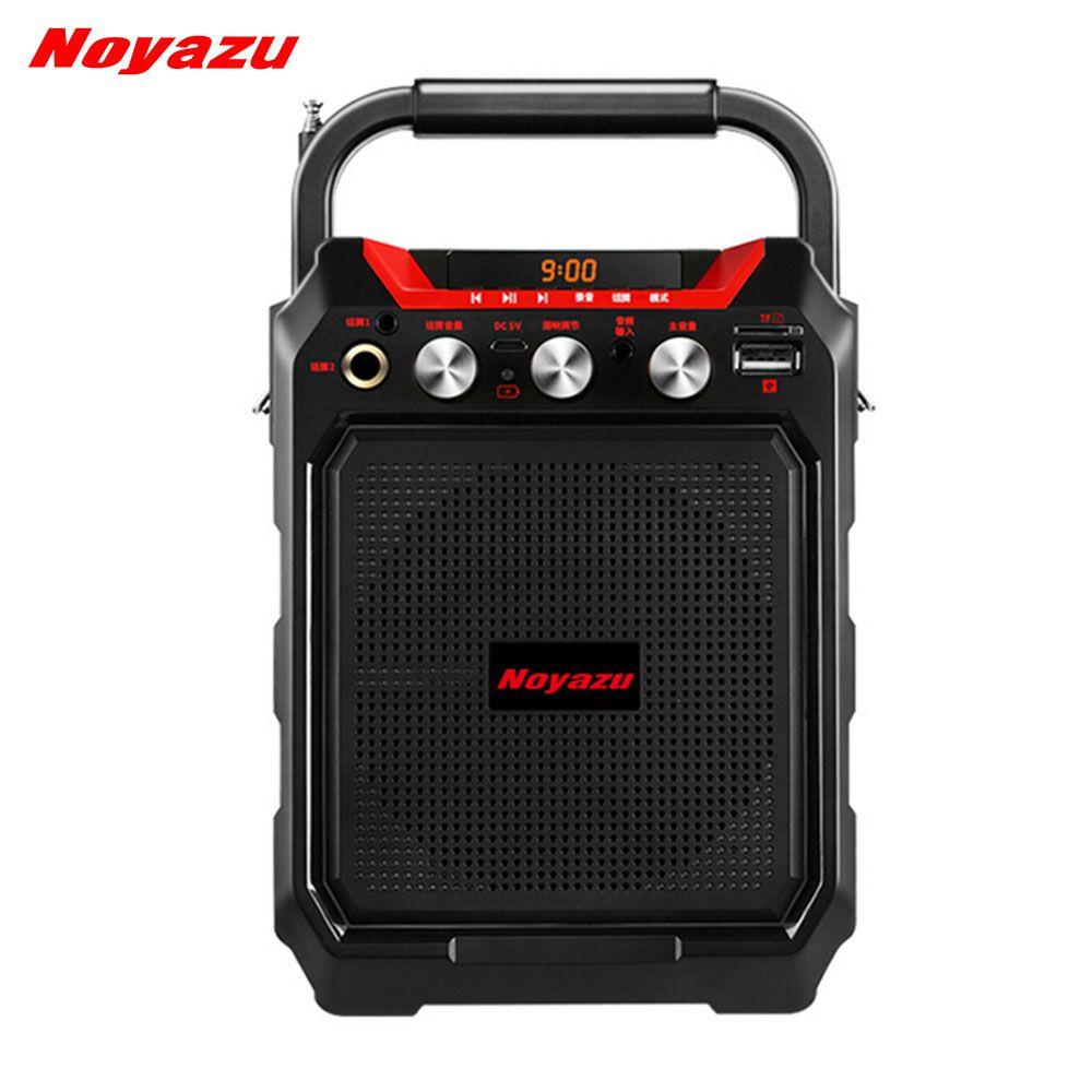 Noyazu K99 Wireless Portable Bluetooth Speaker Wireless Speaker Sound System 3D <font><b>Stereo</b></font> Music Support AUX FM TF card paly