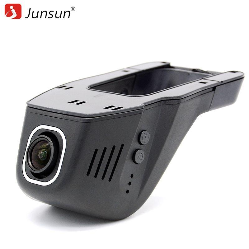 Junsun Car DVR Camera Video Recorder WiFi APP Manipulation Full HD 1080p Novatek 96655 IMX 322 Dash Cam Registrator Black Box