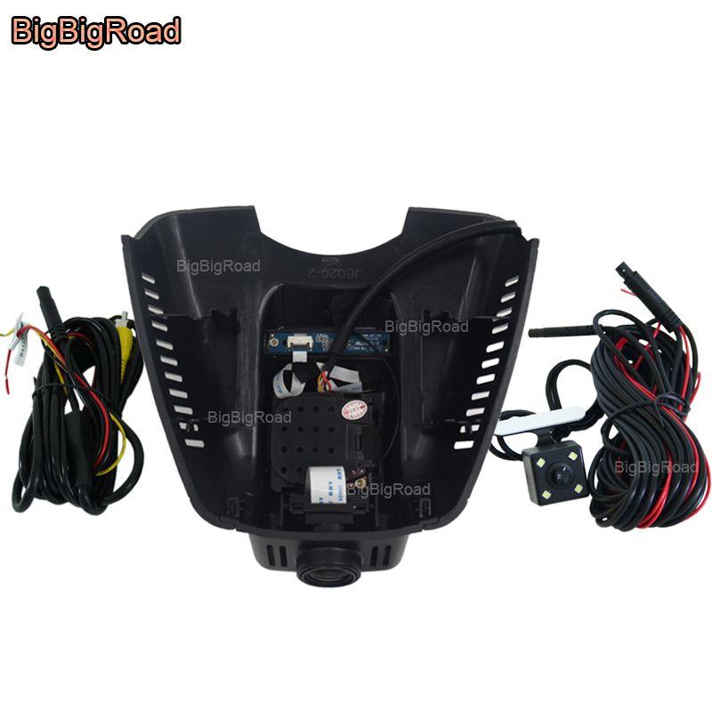 BigBigRoad Auto wifi DVR Video Recorder Dual Objektiv Für Mercedes Benz CLS 300 C serie W204 C180 C200 2010 2011 2012 2013 2014