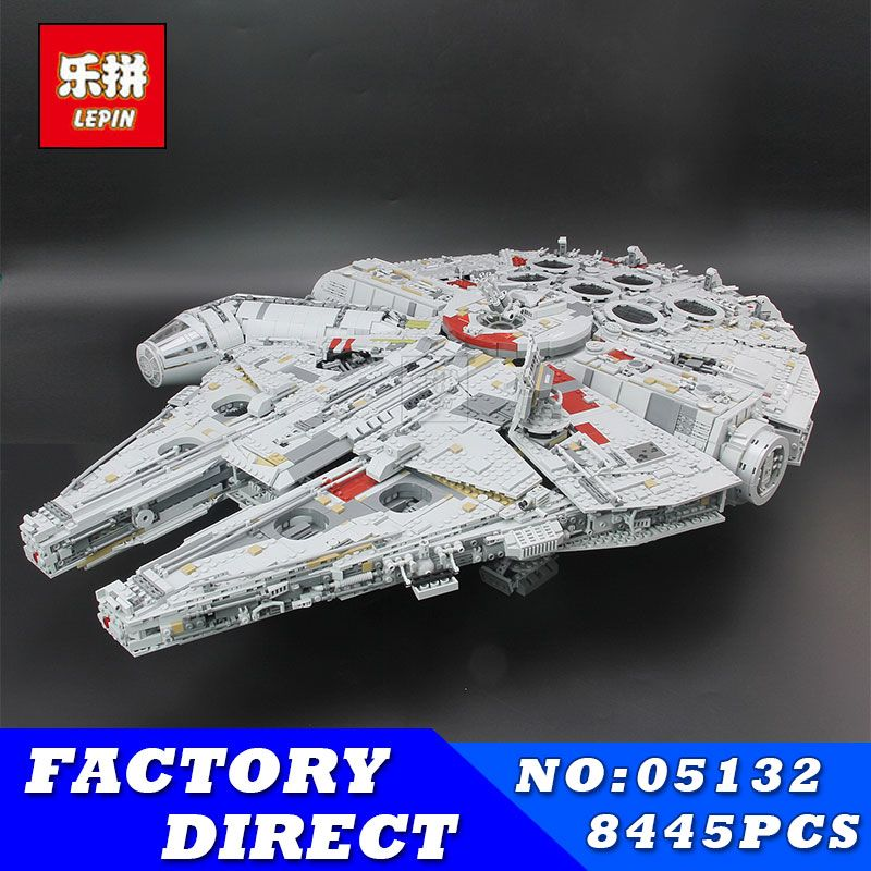 LEPIN 05132 8445pcs Star Series Wars Kits Ultimate Collector's Model Destroyer Building Blocks Bricks Children Toys Gifts 75192