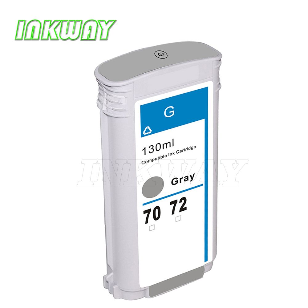 INK WAY For hp72 C9374A ink cartridge for hp 72 GREY T770/T790/T1120PS/T1120HD T1100/T1100S etc.