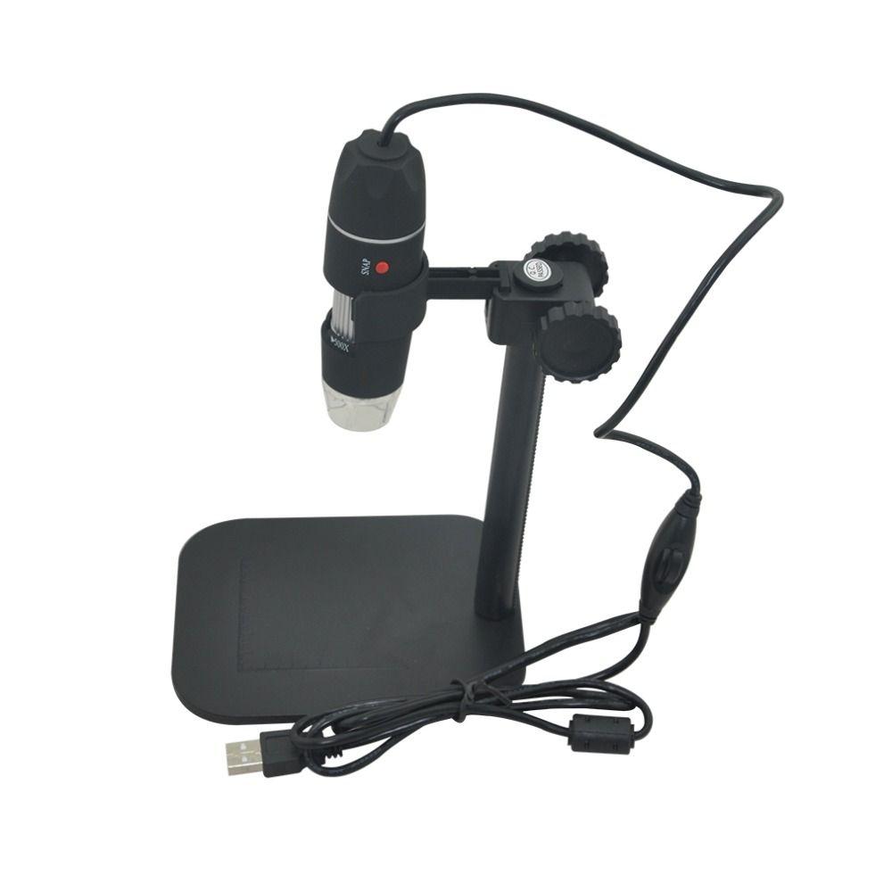 50X to 500X USB LED HD Digital Microscope Desktop Electronic Magnifier Endoscope Camera Zoom Surpport Vista/Win XP/Win 7/Win 8