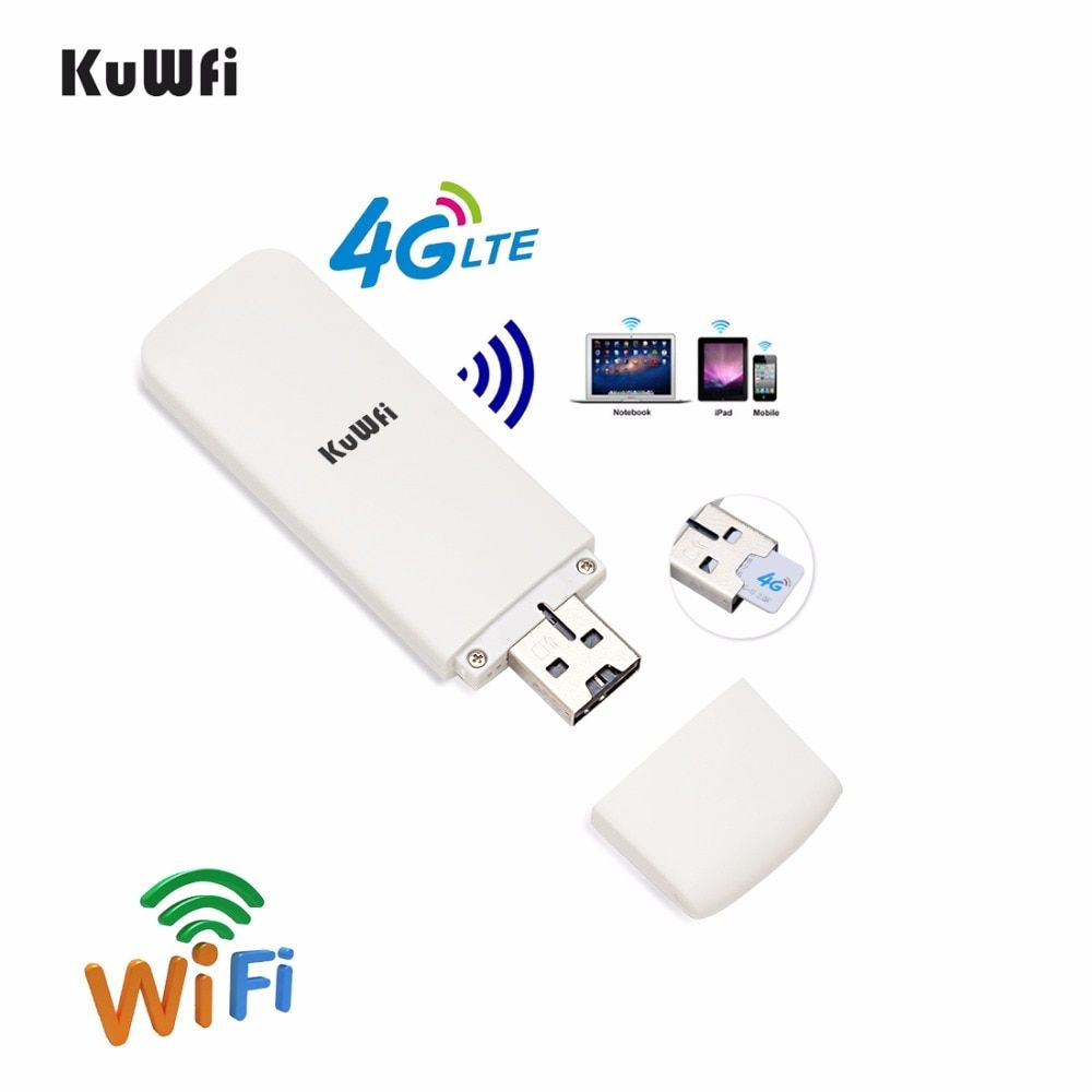 Car 4G Wifi Router 4G USB Modem Mini Mobile Hotspot Wireless 4G USB WIFI Dongle Wi-Fi Wireless Access Provider With SIM Solt