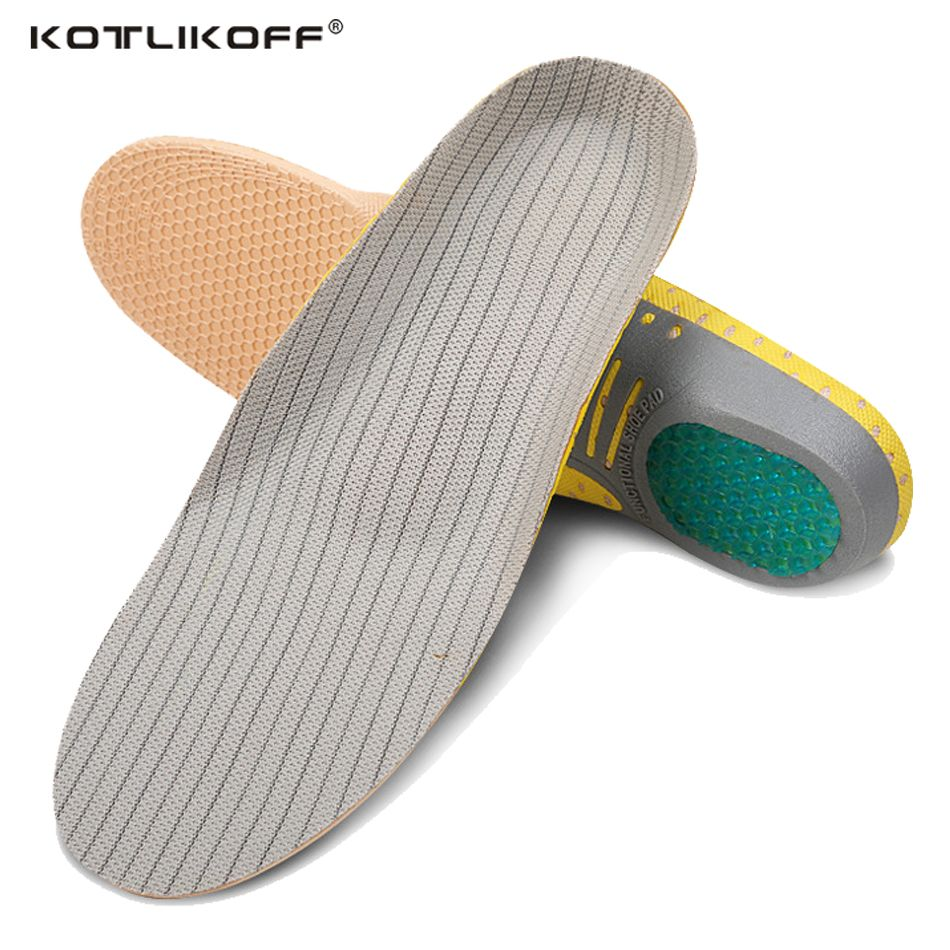 Orthopédiques PVC Léger Supports Plantaires Semelles de Sport Respirant Déodorant Coussin pour Hommes Femmes Chaussures Semelles Orthopédiques Plaquettes